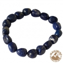 Armband, Lapislazuli, 10 - 12mm Nuggets